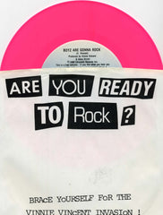 "1986 RARE U.S. CHRYSALIS ""BOYS ARE GONNA ROCK""/""ANIMAL"" 7"" PICTURE SLEEVE PROMOTIONAL-ONLY SINGLE! NrMINT!"