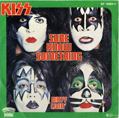 "1979 RARE AUSTRIAN IMPORT BELLAPHON ""SURE KNOW SOMETHING""/""DIRTY LIVIN'"" 7"" PICTURE SLEEVE SINGLE! NrMINT!"