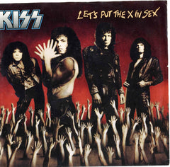 "1988 RARE U.S. MERCURY ""LET'S PUT THE X IN SEX""/""CALLING DR. LOVE"" 7"" PICTURE SLEEVE SINGLE! NrMINT!"