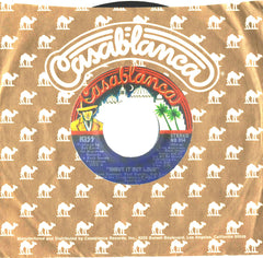 "1976 RARE U.S. BLUE LABEL ""SHOUT IT OUT LOUD""/""SWEET PAIN"" 7"" CAMEL SLEEVE SINGLE! NrMINT!"