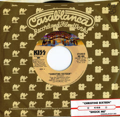 "1977 RARE U.S. FILMWORKS LABEL ""CHRISTINE SIXTEEN""/""SHOCK ME"" 7"" FILMWORKS SLEEVE SINGLE! MINT!"