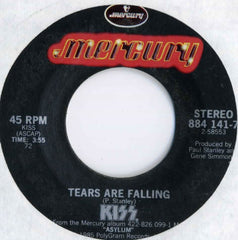 "1985 HTF U.S. MERCURY LABEL ""TEARS ARE FALLING""/""ANY WAY YOU SLICE IT"" 7"" POLYGRAM SINGLE! MINT!"