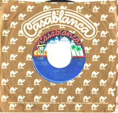 "1974 MEGA-RARE U.S. BLUE LABEL ""KISSIN' TIME""/""NOTHIN' TO LOSE"" 7"" CAMEL SLEEVE SINGLE! NrMINT!"