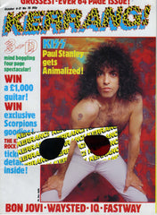 "1984 U.K. IMPORT ORIGINAL 'KERRANG!"" No. 78 MAGAZINE! MrMINT!"