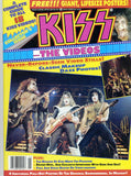 "1990 July U.S. ORIGINAL 'KISS THE VIDEOS"" MAGAZINE! 100% KISS W/PULL-OUT POSTERS! MINT!"