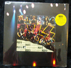 "1996 RARE U.S. MERCURY LABEL (SEALED) ""KISS UNPLUGGED"" 2-LP with BONUS FOLD-OUT POSTER! MINT!"
