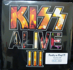 "1993 MEGA-RARE U.S. MERCURY LABEL (SEALED) ""KISS ALIVE III"" LP # 4162! MINT!"
