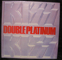 "1985 MEGA-RARE U.K. IMPORT PHONOGRAM LABEL ""DOUBLE PLATINUM"" 2 x LPS with B/W PHOTOS! NrMINT!"