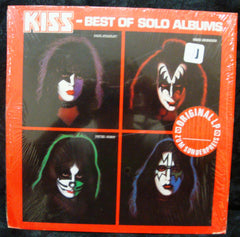"1978 RARE GERMAN IMPORT PHONGRAM LABEL ""KISS-BEST OF SOLO ALBUMS"" LP! MINT!"