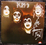 "1974 ACE FREHLEY PERSONALLY AUTOGRAPHED 1974 CASABLANCA RECORDS & FILMWORKS ""KISS S/T"" LP! AWESOME PIECE! VERY FRAMABLE! NrMINT!"
