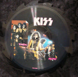 "1988 Original U.K. IMPORT ""TELL TALES INTERVIEW SAWBLADE SHAPED"" 2-Sided Picture Disc! MINT!"