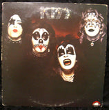 "1974 RARE U.S. CASABLANCA FILMWORKS LABEL ""KISS S/T DEBUT NB 7001"" LP! COMPLETE! EX!"
