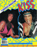 "1987 KISS U.K. IMPORT ORIGINAL 'ANABAS KISS SPECIAL"" MAGAZINE W/100% KISS PLUS 2-PAGE PULL-OUT POSTER! MINT!"