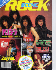 "1987 December ""ROCK SCENE"" MAGAZINE! COMPLETE! EX+++!"