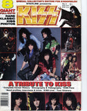 "1987 ""STARLINE PRESENTS KISS SPECIAL"" MAGAZINE! COMPLETE with TONS OF KISS POSTERS! 100$ KISS! MINT!"