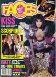 "1986 February ""FACES ROCKS"" MAGAZINE! COMPLETE! EX+++!"
