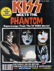 "1978 MEGA-RARE ORIGINAL ""KISS MEETS THE PHANTOM! 100% OFFICIAL KISS SPECIAL MAGAZINE W/POSTER! MINT!"