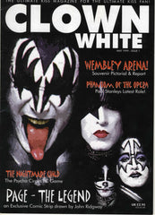 "1999 May ISSUE 1  U.K. IMPORT ""CLOWN WHITE"" MAGAZINE! COMPLETE! MINT!"