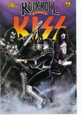 "1990 HTF U.S. ORIGINAL REVOLUTIONARY COMICS ""KISS"" COMIC! EX!"