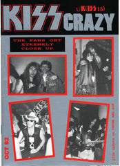 "1992 October U.K. IMPORT OFFICIAL 'KISS CRAZY"" FANZINE No. 15"" COMPLETE! MINT!"