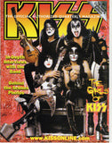"2004 Fall U.S.OFFICIAL 'KISS MAGAZINE No. 1"" COMPLETE! with PULL-OUT POSTER! MINT!"