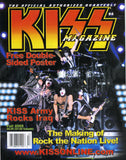 "2005 Fall U.S.OFFICIAL 'KISS MAGAZINE No. 4"" COMPLETE! with BIG DOUBLE POSTERS! MINT!"