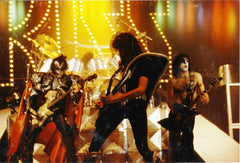 "1980 Austrian Import Unmasked Tour ""GROUP LIVE ON STAGE IN GERMANY 1980"" Ver. 3 FULL COLOR GLOSSY PHOTO! MINT!"