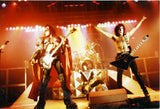 "1980 Austrian Import Unmasked Tour ""GROUP LIVE ON STAGE IN GERMANY 1980"" Ver. 2 FULL COLOR GLOSSY PHOTO! MINT!"