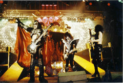 "1980 Austrian Import Unmasked Tour ""GROUP LIVE ON STAGE IN GERMANY 1980"" Ver. 1 FULL COLOR GLOSSY PHOTO! MINT!"