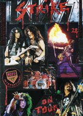 "1992 October ITALIAN IMPORT ORIGINAL 'KISS STRIKE No. 28"" FANZINE"" COMPLETE! MINT!"