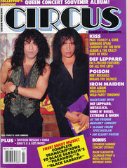 "1992 July U.S.ORIGINAL 'CIRCUS"" MAGAZINE! MINT!"