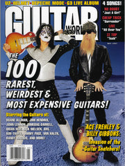 "1997 May U.S.ORIGINAL 'GUITAR WORLD"" MAGAZINE W/BIG ACE POSTER! MINT!"