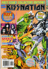 "1996 U.S.ORIGINAL 'KISSNATION"" COMIC MAGAZINE! MINT!"