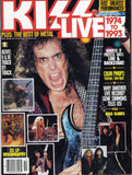 "1993 October U.S.ORIGINAL 'KISS LIVE 1973 TO 1993"" MAGAZINE! NrMINT!"