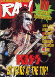 "1993 U.K. IMPORT ORIGINAL 'RAW"" MINI-MAGAZINE! COMPLETE! MINT!"