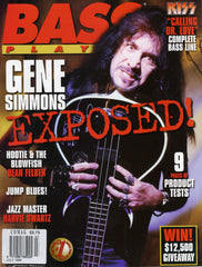 "1996 July U.S. ORIGINAL 'BASS PLAYER"" MAGAZINE! COMPLETE! MINT!"