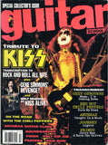 "1992 July U.S. ORIGINAL 'GUITAR SCHOOL TRIBUTE TO KISS"" MAGAZINE! COMPLETE! MINT!"