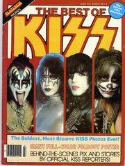 "1979 AUCOIN MANAGEMENT, INC. OFFICIAL MEGA-RARE ORIGINAL ""THE BEST OF KISS"" MAGAZINE W/POSTER! NrMINT!"