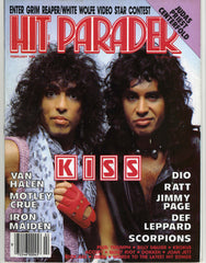 "1985 February U.S. Original  ""HIT PARADER"" COMPLETE! MINT!"