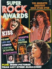 "1978 U.S. Original ""SUPER ROCK AWARDS"" MAGAZINE! COMPLETE! MINT!"