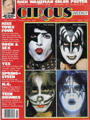 "1978 October KISS U.S. ORIGINAL 'CIRCUS No. 194"" MAGAZINE! COMPLETE! MINT!"