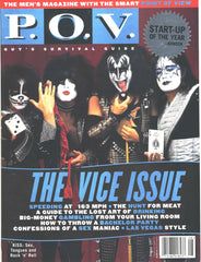 "1997 August U.S. ORIGINAL 'P.O.V. PREMIERE ISSUE No. 1"" MAGAZINE! COMPLETE! MINT!"
