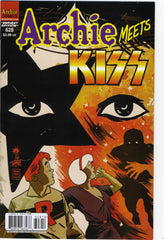 "2012 U.S.OFFICIAL 'ARCHIE MEETS KISS"" COMIC No. 6289""! VARIANT COVER! COMPLETE! MINT!"