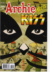 "2012 U.S.OFFICIAL 'ARCHIE MEETS KISS"" COMIC No. 629""! VARIANT COVER! COMPLETE! MINT!"