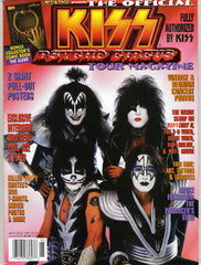 "1999 U.S. ORIGINAL 'THE OFFICIAL KISS PSYCHO CIRCUS TOUR MAGAZINE""! COMPLETE! with BIG PULL-OUT POSTER! MINT!"