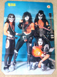"1980 January DUTCH IMPORT ORIGINAL 'TOP POP"" GIANT FOLD-OUT POSTER MAGAZINE! COMPLETE! EX+++!"