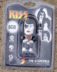 "2012 KISS CATALOG, LTD. Official Tyme Machines Merchandise (Sealed) ""PAUL STANLEY 8GB USB DRIVE!"" MINT!"