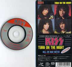 "1987 RARE JAPAN ONLY ""3"" TURN ON THE NIGHT/HELL OR HIGH WATER"" 2-TRACK CD!"