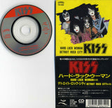 "1987 RARE JAPAN ONLY ""3"" HARD LUCK WOMAN/DETROIT ROCK CITY"" 2-TRACK CD!"