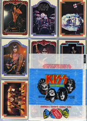"1978 Aucoin Management, Inc. 'Donruss Productions' Complete Set of (66) ""SERIES 1 KISS TRADING CARDS"" No. 1 - 66!"" NrMINT!"